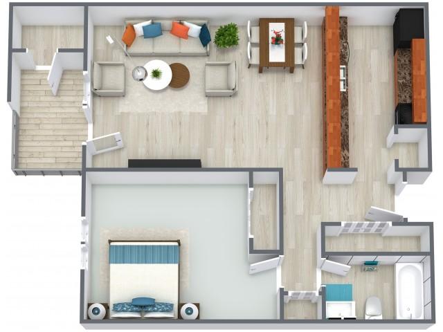 Anaheim Floorplan