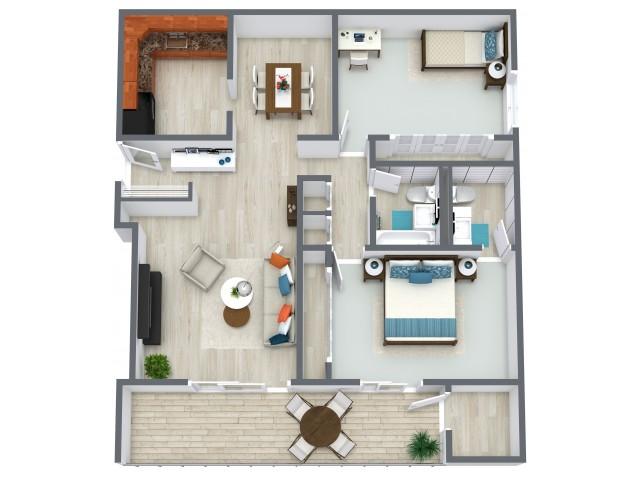 Malibu Floorplan