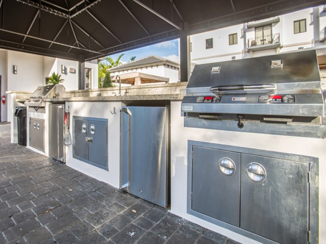 Image of Outdoor Kitchen and Bar for Club Prado