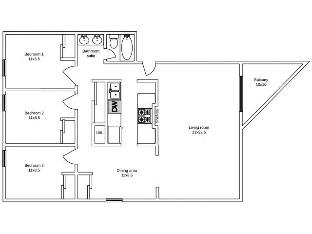 Apartments 20 & 23