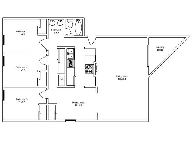 Apartments 30 & 33