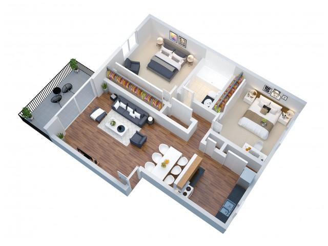 The Bahia Apartments