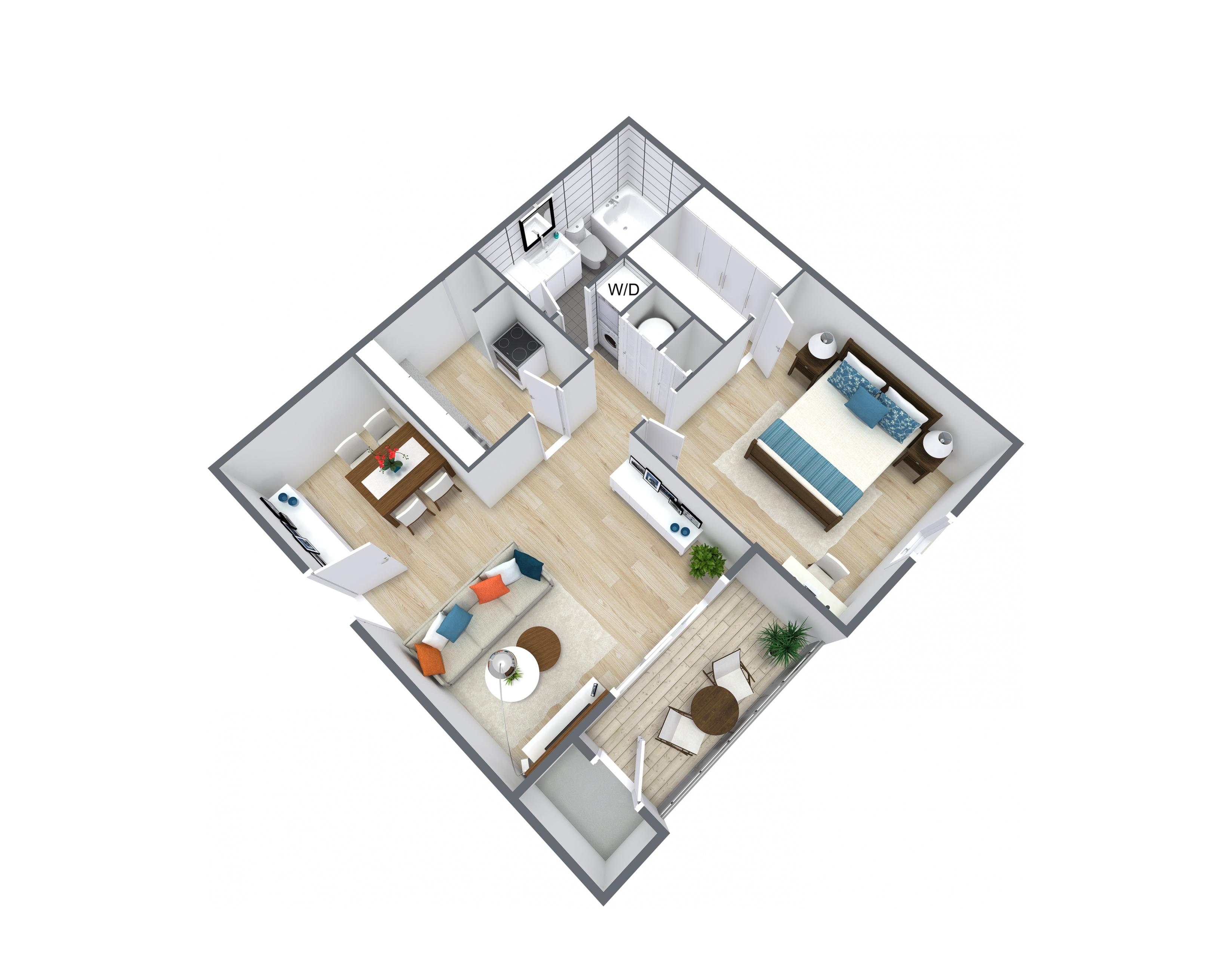Bayshore Floor plan layout