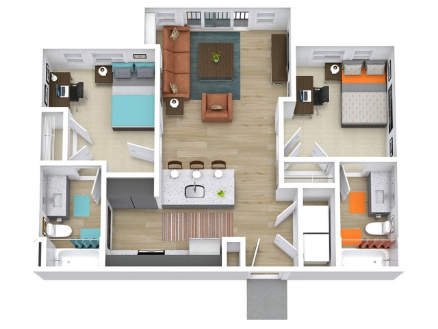 B1 Floor plan layout