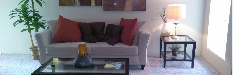 Elegant Living Room   2 Bedroom Apartments Houston   La Esencia. Apartments In Houston   La Esencia