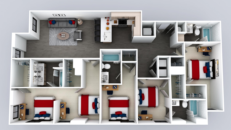 E2 Floor Plan