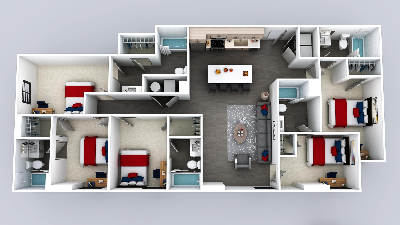 E3 Floor Plan