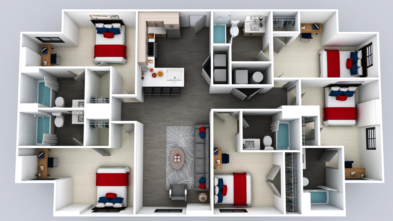 E4 Floor Plan