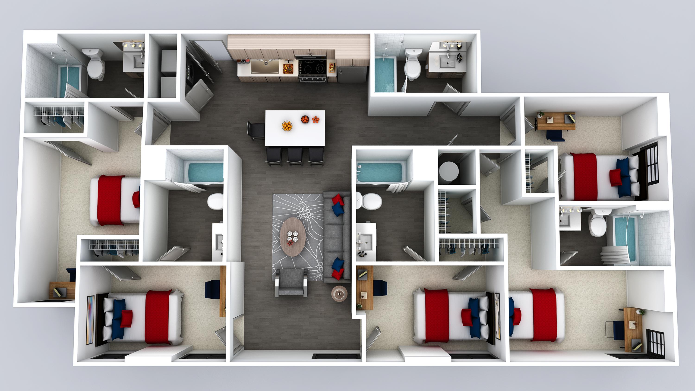 E5 Floor Plan