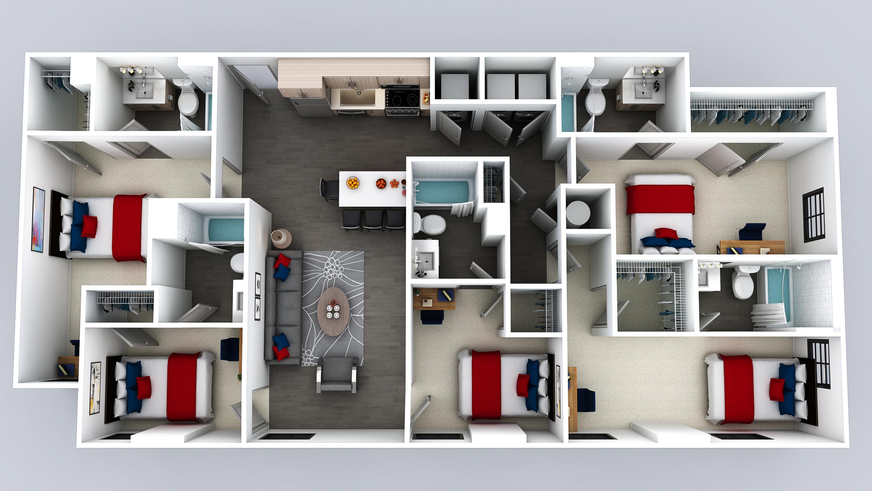 E6 Floor Plan