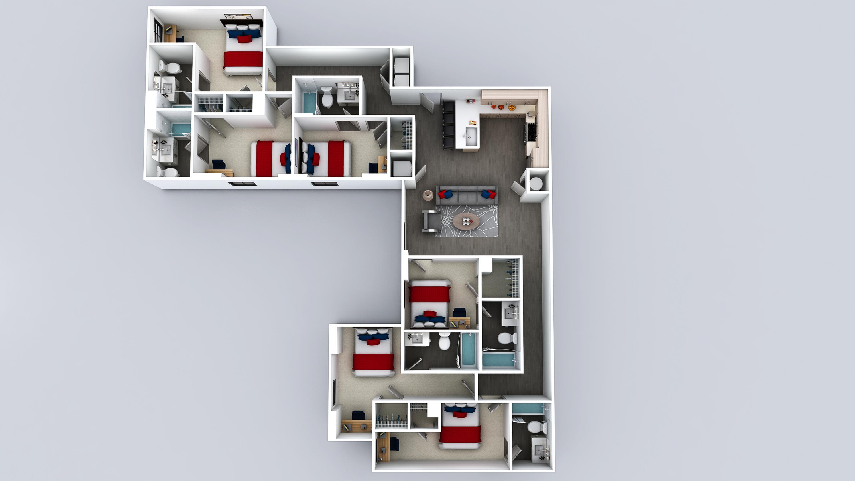 F1 Floor Plan