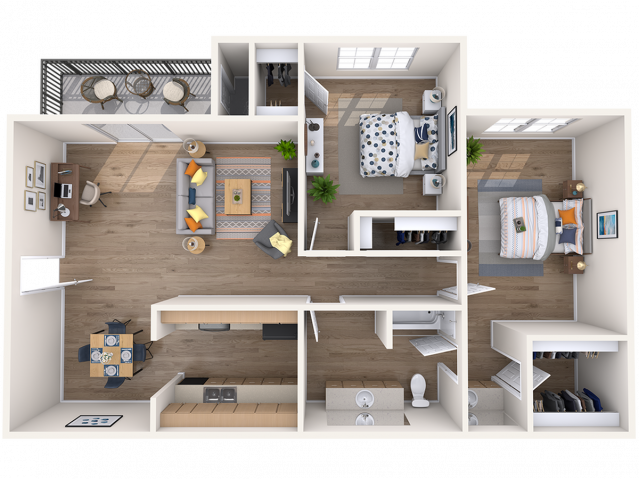 One Two Bedroom Apartments In Austin Tx