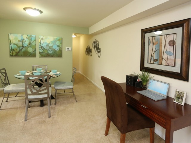 Dining Room/Home Office Space