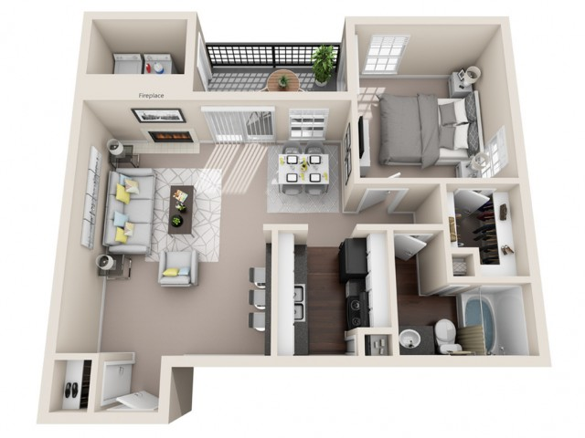 Our One And Two Bedroom Apartments In San Antonio Tx