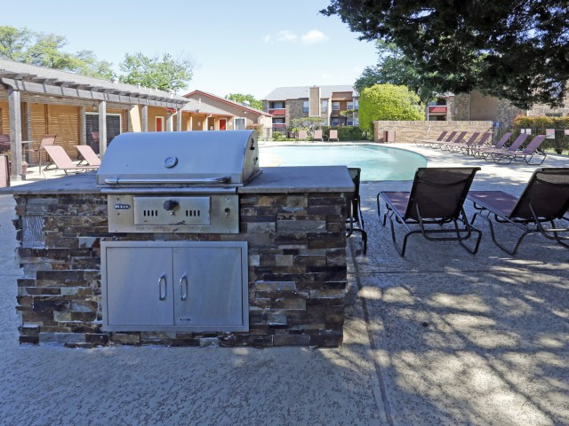Community BBQ and Pool