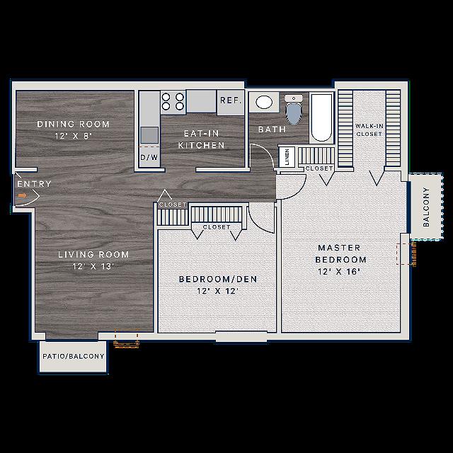 B2-2 Floorplan