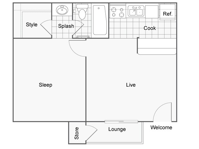 Yukon Floor Plan