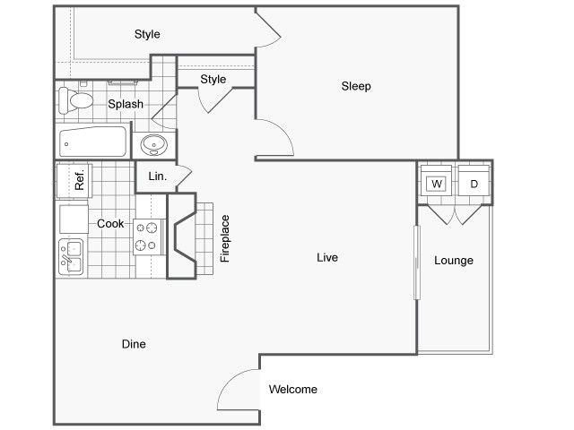 St. Lawrence Floor Plan