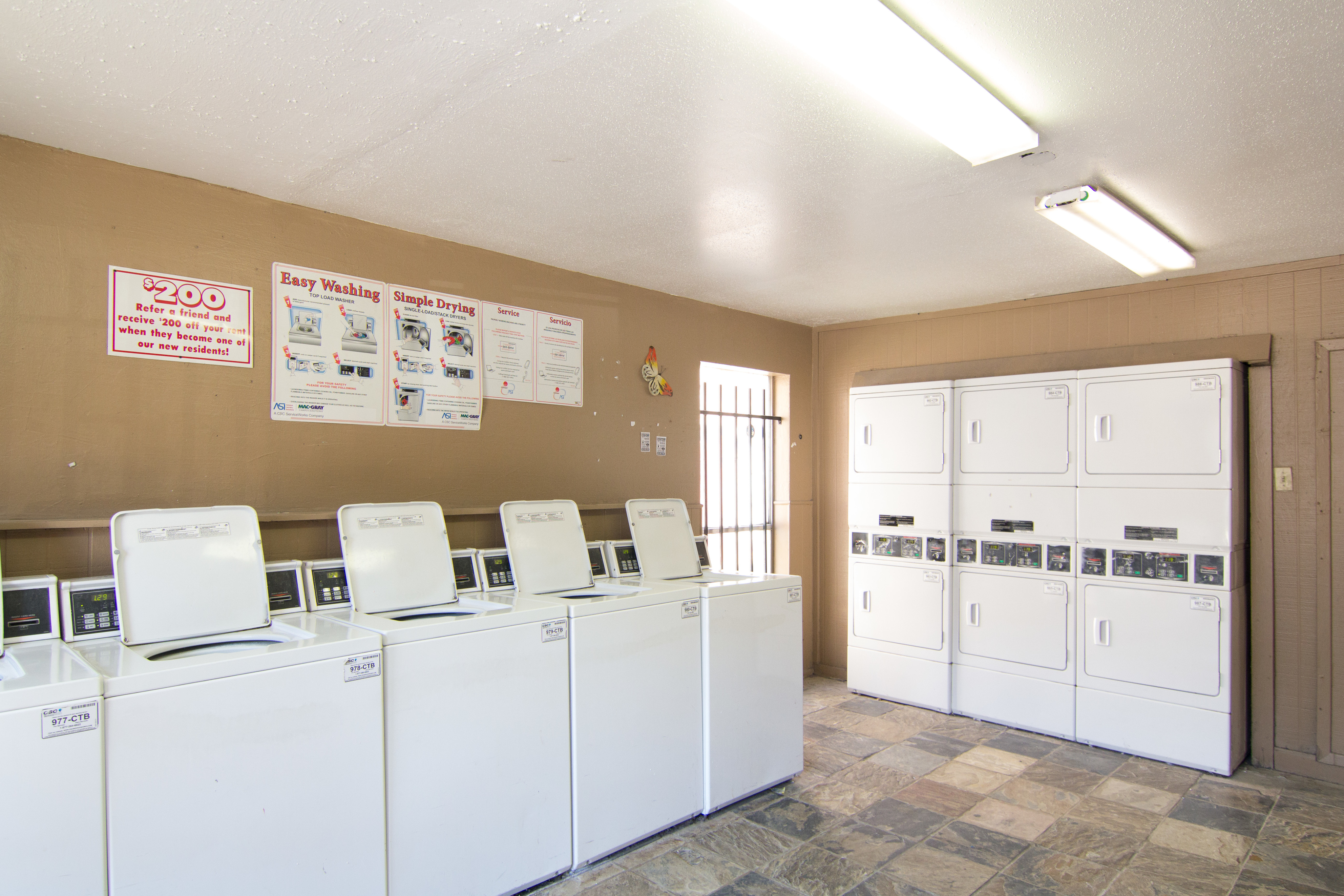 Image of Laundry Facility for Victoria Park
