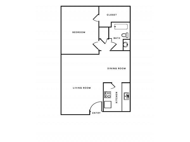 C 1X1 sq.ft 685