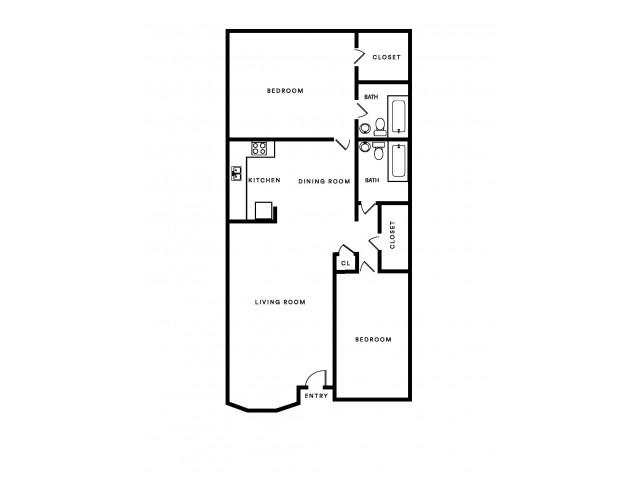 F 2x2 sq.ft 985