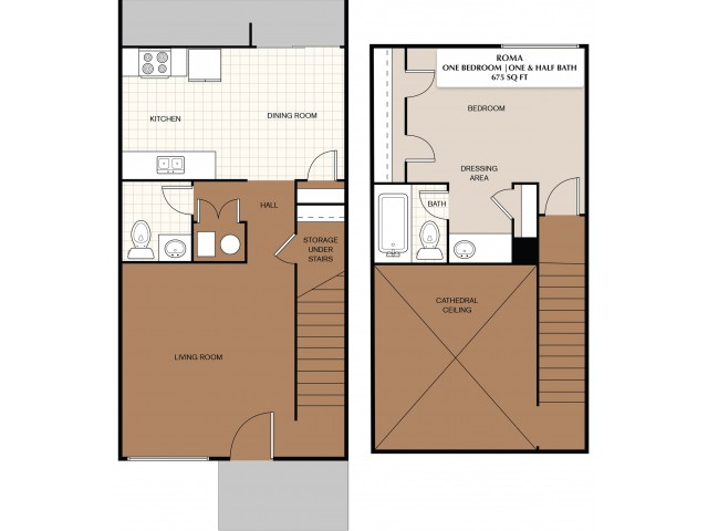 1X1.5 Townhome
