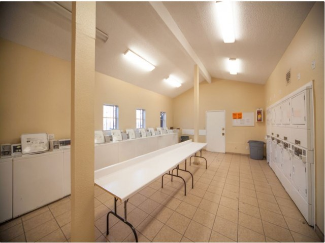 Image of Laundry facility on site for Pine Village