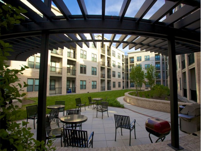 Image of BBQ Courtyard for Penrose Apartments