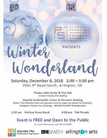 Join Us for Winter Wonderland this Saturday!