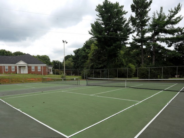 Image of Tennis Court for Park at Midtown