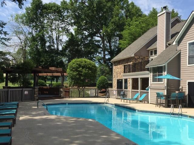Image of Swimming Pool with Pergola for Park at Oak Ridge