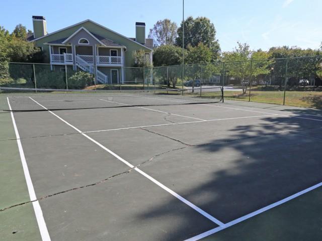 Image of Basketball + Tennis Court for Park at Oak Ridge