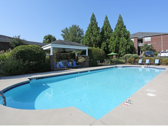 Sparkling Pool | Apartments for rent in Winston-Salem, NC | Morgan Ridge