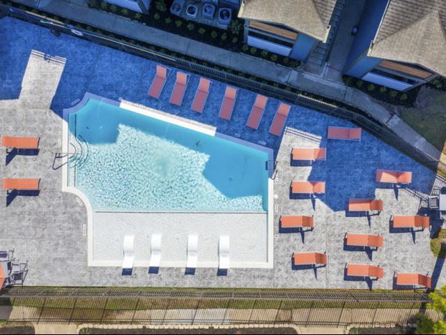 Resort Style Pool | Apartments in Houston, TX | Steepleway Downs