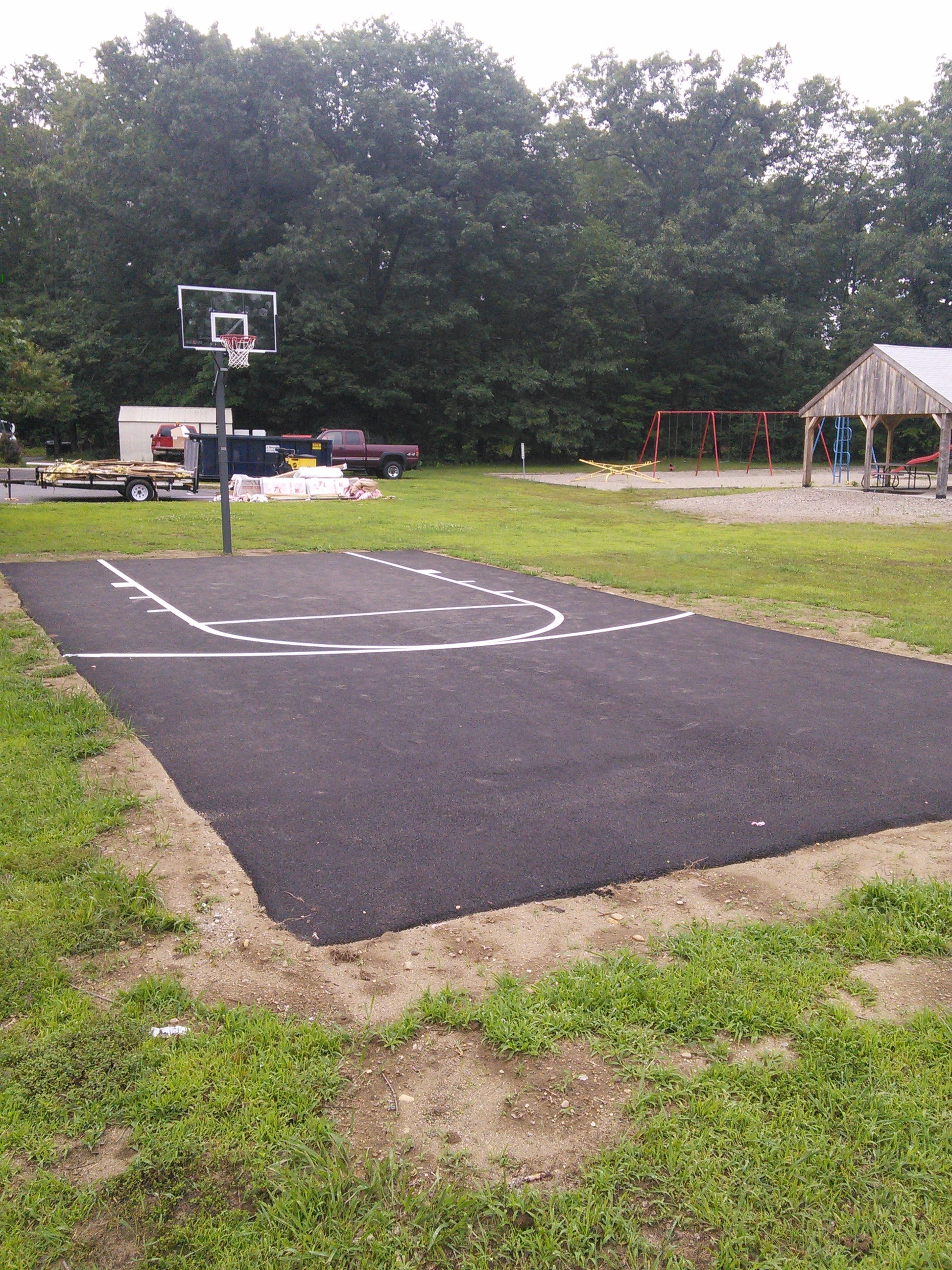 Pine Ridge_Basketball Court