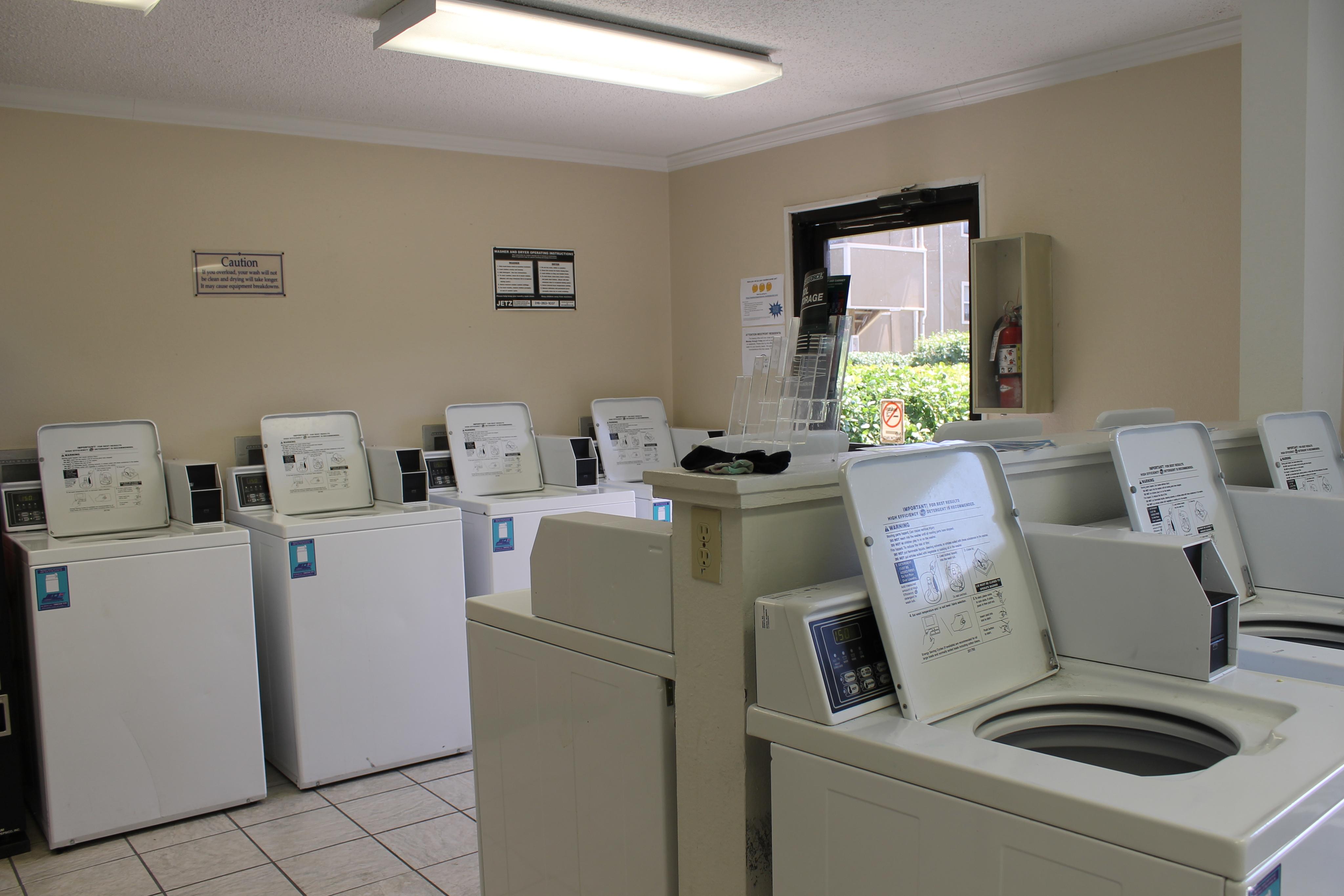 Westport Apartments_Laundry Room_Apartment Complex