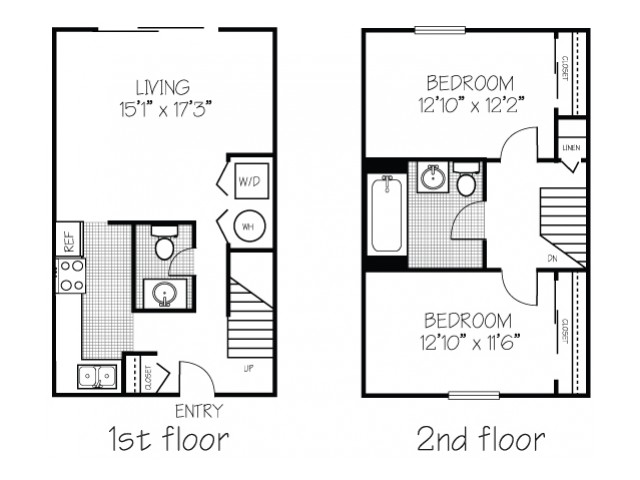 Townhome 2x1.5