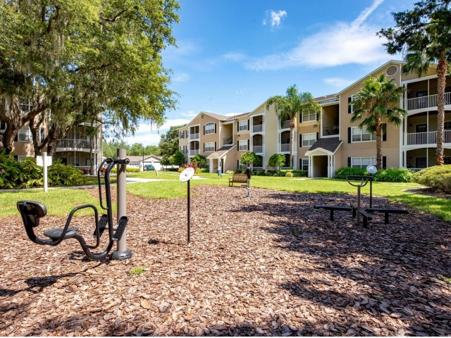 Image of Outdoor Fitness Park for Summer Cove Apartments
