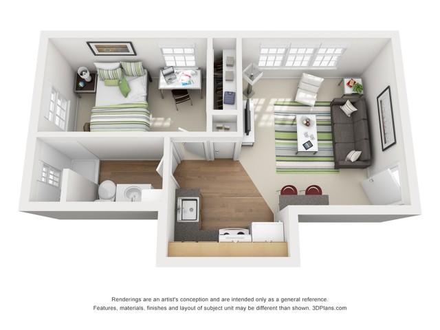 The Gee 1 Bedroom