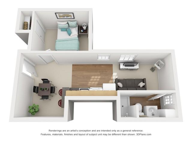 The Tressel 1 Bedroom