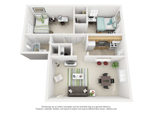 The Owens 2 Bedroom