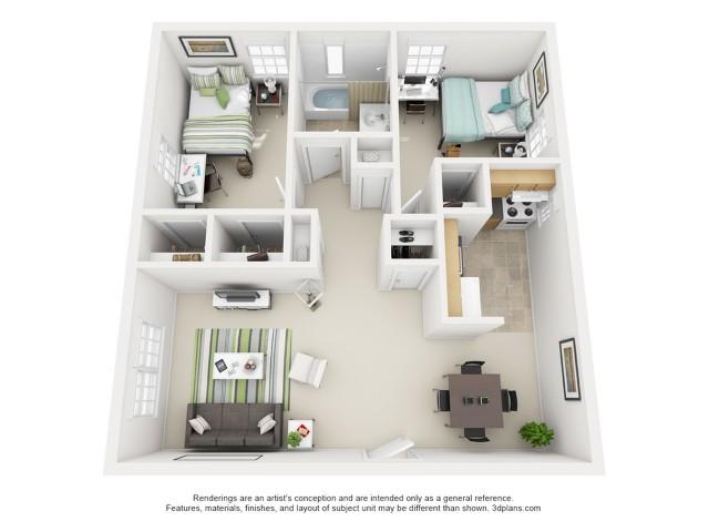 The Hesiman 2 Bedroom