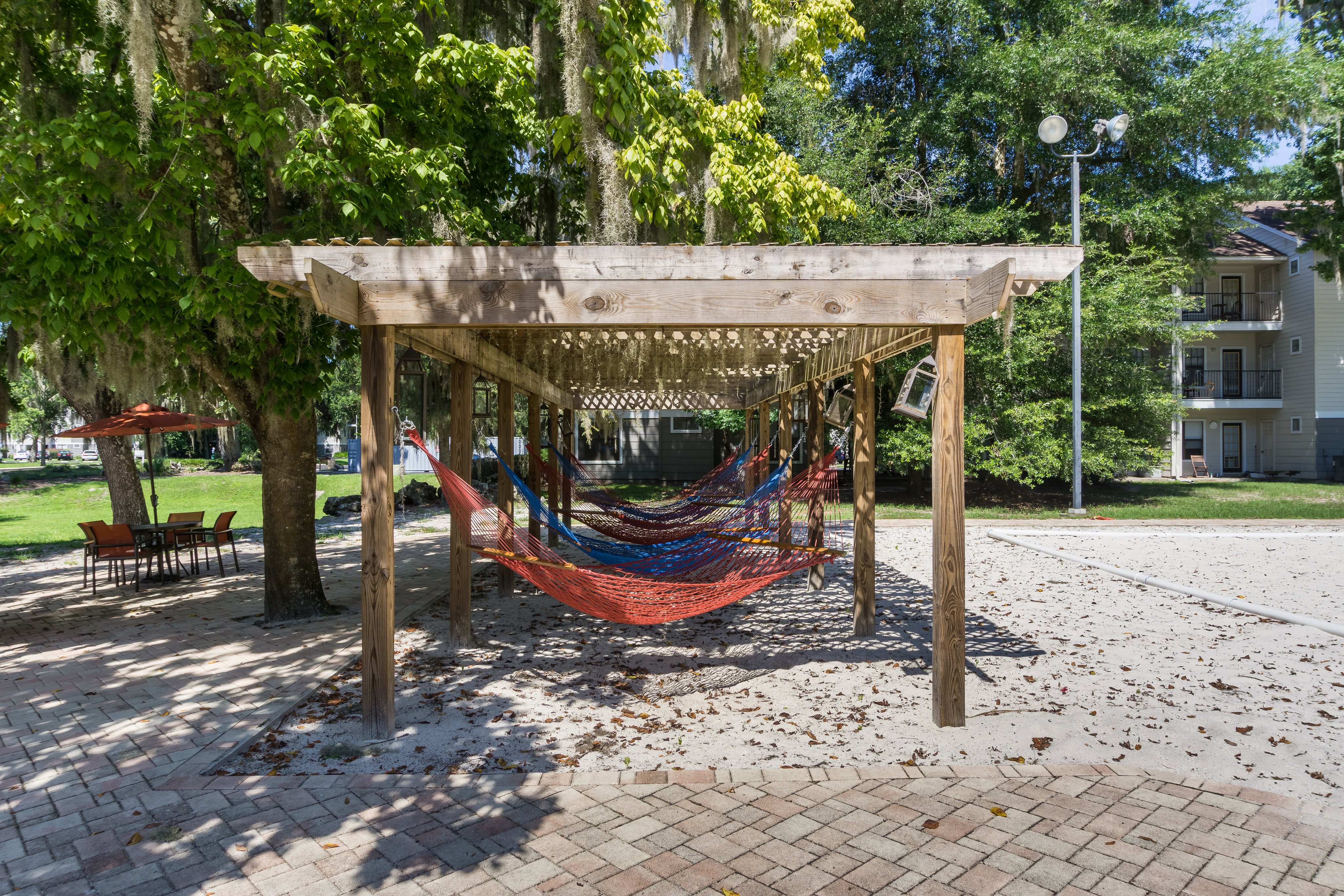 Hammock lounge at The Pavilion on 62nd