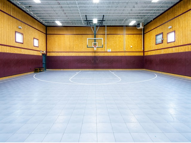The Village at Bluegrass | Indoor Basketball Court