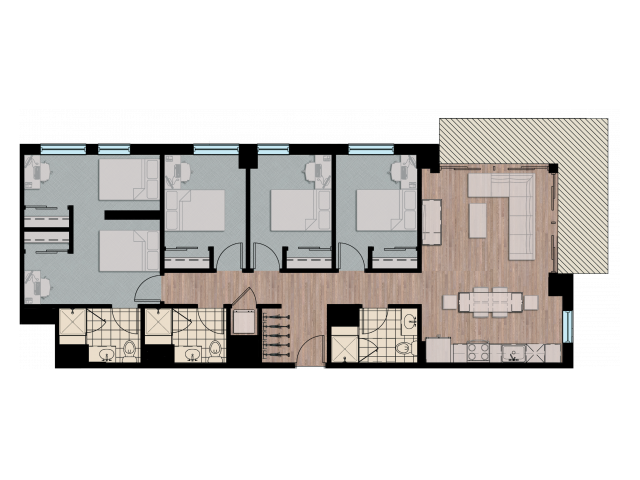4X5X3   4 bed 5 bath   from 1458 square feet