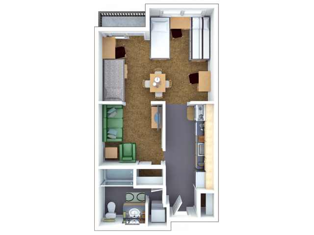 3 Bed Loft