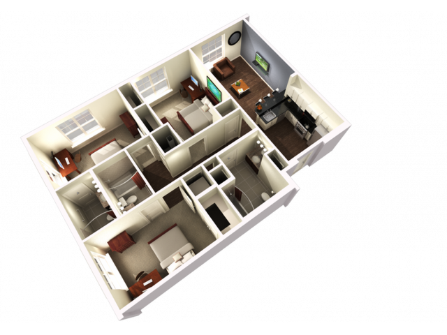 3 Bedroom 3 Bathroom