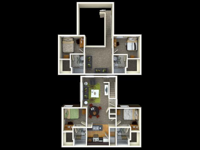 4 Bedroom / 4 Bathroom Unrenovated