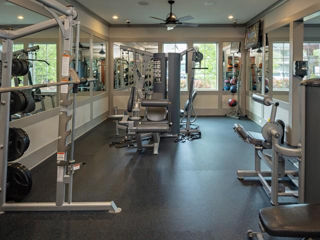 Flex-Friendly Fitness Center