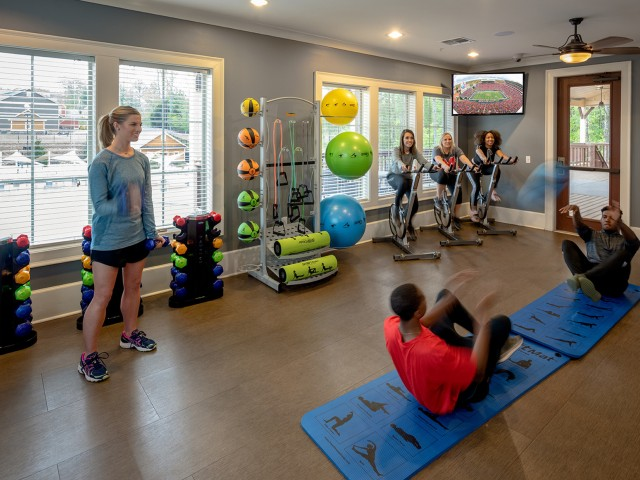 On-Demand Fitness Studio